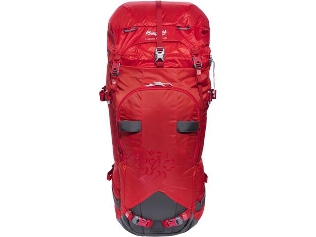 Kletterausrüstung Rucksack : Bergans helium pro 40 backpack red solid grey campz.de